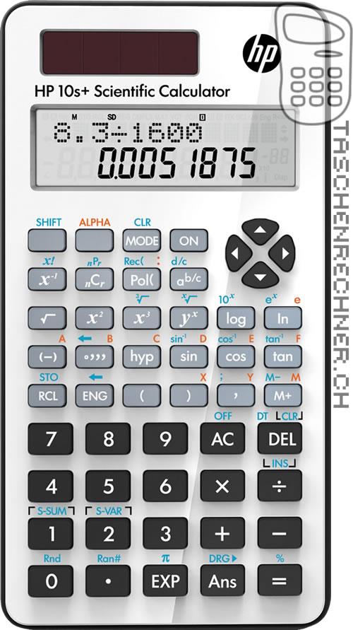 HP 10 S Taschenrechner